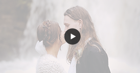 Watch Auckland boho wedding video