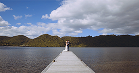 Rotorua Backyard Wedding Video